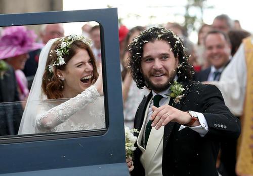 عروسی دو هنرپیشه سریال معروف