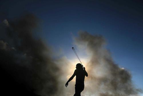 ادامه اعتراضات هفتگی فلسطینیها در مرز غزه و اسراییل