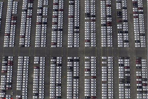 پارکینگ خودروهای آئودی در چانگچون