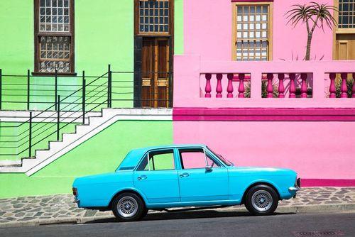 خانههای رنگی در کیپ تاون آفریقای جنوبی/ عکس روز وب سایت