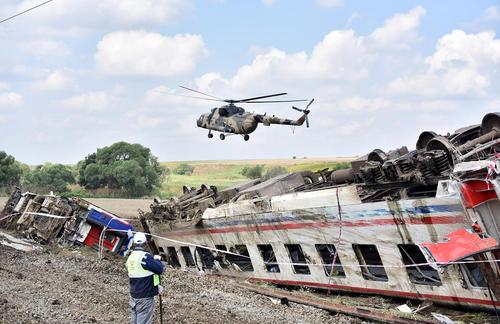 24 کشته در سانحه قطار در