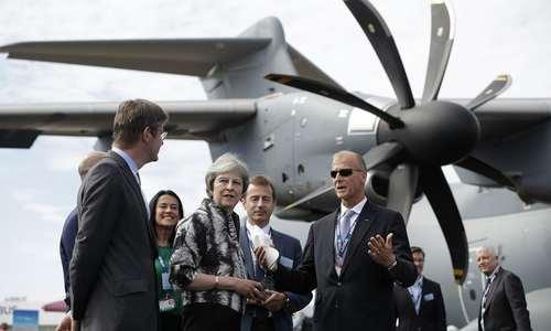 صحبتهای نخستوزیر بریتانیا با مدیر عامل شرکت هواپیماسازی