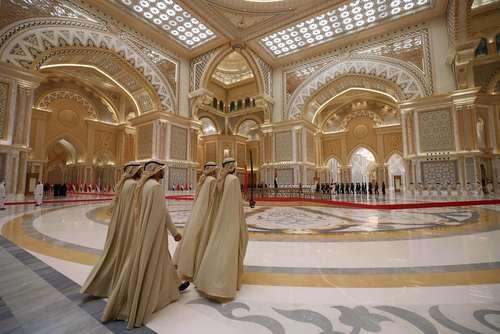در حاشیه سفر رسمی رییس جمهوری چین به امارات متحده عربی/ ابوظبی / خبرگزاری فرانسه