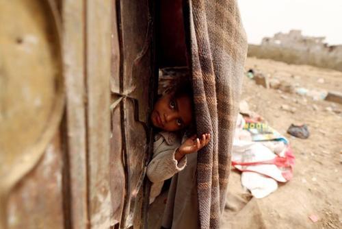 اردوگاه آوارگان جنگی در شهر صنعا یمن/ رویترز