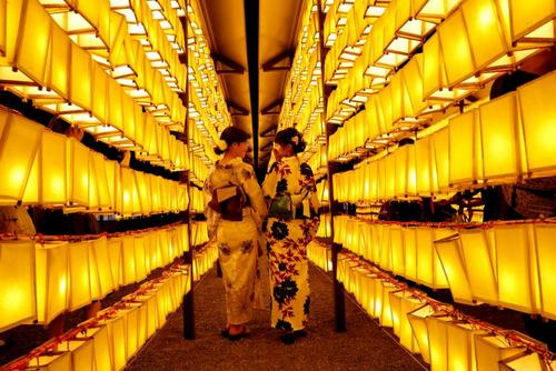 جشنواره سالانه میتاما در معبد یاسوکنی توکیو