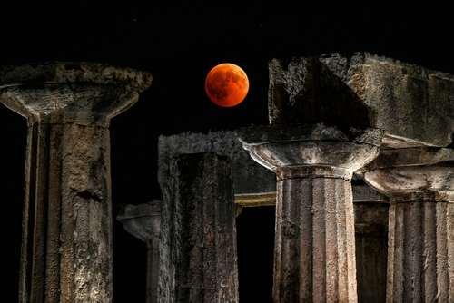 معبد آپولو- یونان