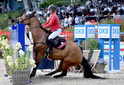 مسابقات پرش با اسب در برلین
