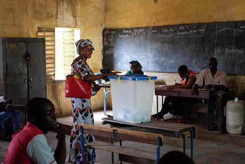 انتخابات ریاست جمهوری در کشور آفریقایی مالی