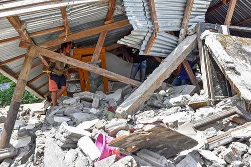 زلزله 6.4 ریشتری در اندونزی