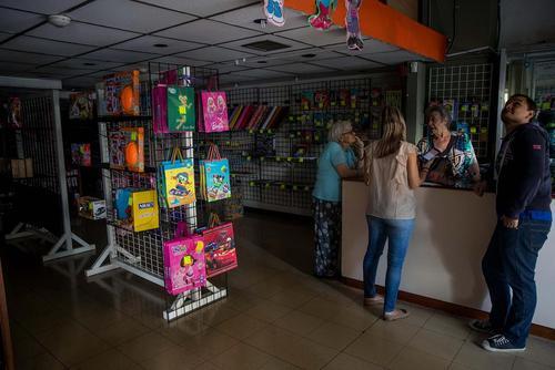 بی برقیهای طولانی در شهر کاراکاس ونزوئلا