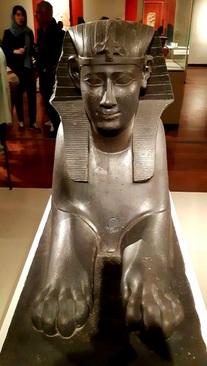 مجسمه ابوالهول به نام فرعون هاکور