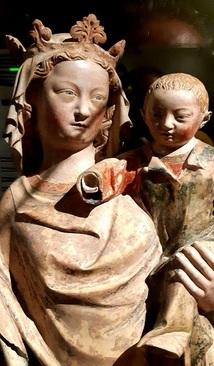 مریم عذرا و کودک