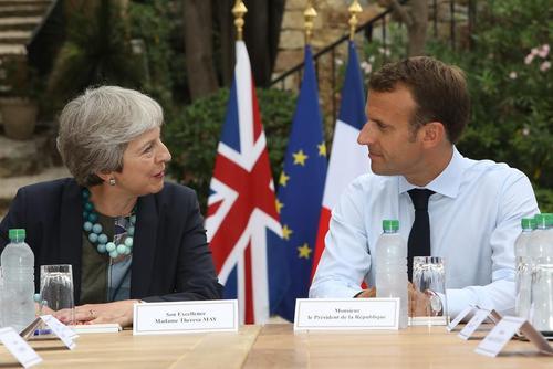 رهبران فرانسه و بریتانیا در نشست دو کشور در جنوب فرانسه