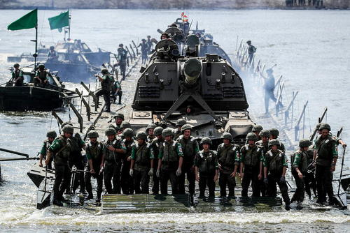 بازی های ارتش های جهان در روسیه/ ایتارتاس