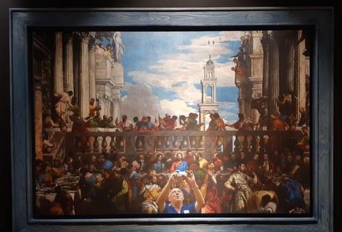 تابلو: جشن عروسی در قانا 1563 میلادی/ نقاش: ورونز(پائولو کالیاری)