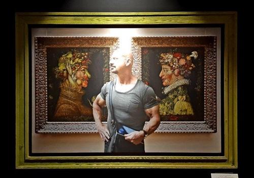 تابلو: تابستان و پائیز 1527 میلادی/ نقاش: جوزپه آرچیمبولدو