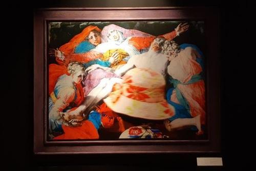 تابلو: پیتا 1530 میلادی/ نقاش: رزو فیورنتینو
