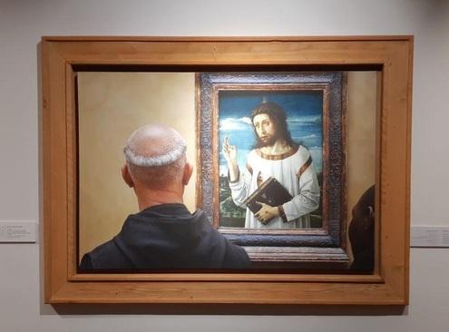 تابلو: کریت بامینینگ 1465 میلادی/ نقاش: جیووانی بلینی
