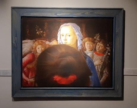 تابلو: باکره و کودک همراه با 5 فرشته 1470 میلادی/ نقاش: ساندرو بوتیچلی
