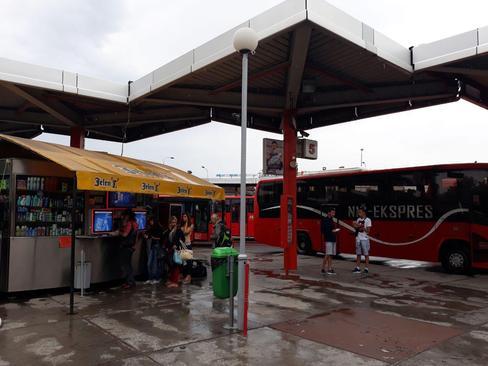 ترمینال اصلی اتوبوسرانی  شهر نیش - جنوب صربستان