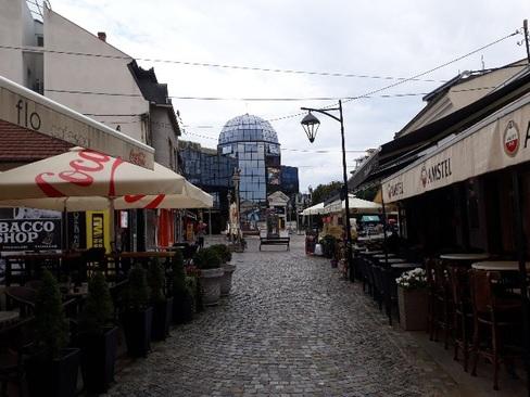 مرکز شهر نیش / ساعت 7 صبح - جنوب صربستان