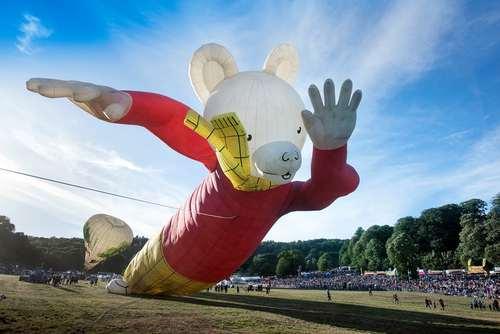 جشنواره سالانه بالن در بریستول بریتانیا/ گاردین