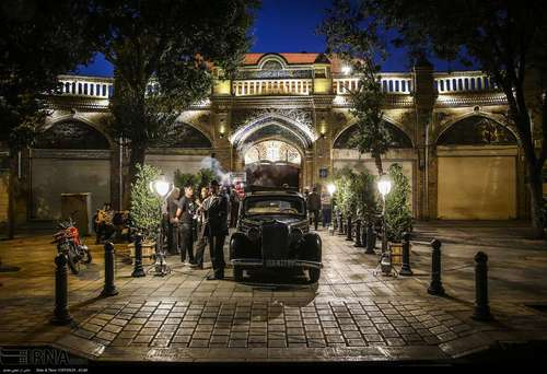 مراسم افتتاح سرای وکیل التجار/عکس: ایرنا