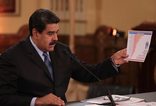 عکس ها : رویترز  سخنرانی روز جمعه مادورو