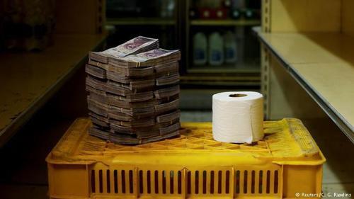 یک عدد دستمال تو 2.6 میلیون بولیوار