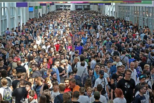 نمایشگاه بازیهای کامپیوتری و ویدئویی در کلن آلمان