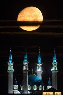 مسجد جامع شهر کازان روسیه/ ایتارتاس