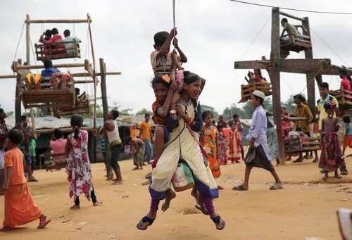 اردوگاه پناهجویان مسلمان میانماری در بنگلادش/ رویترز