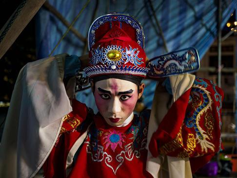 جشنواره سالانه ارواح گرسنه در پنانگ مالزی