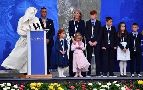 سخنرانی پاپ فرانسیس در ایرلند