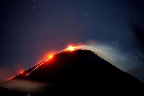 آتشفشان در گواتمالا