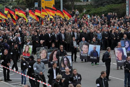 تظاهرات جنبش راستگرای ضد مهاجرت