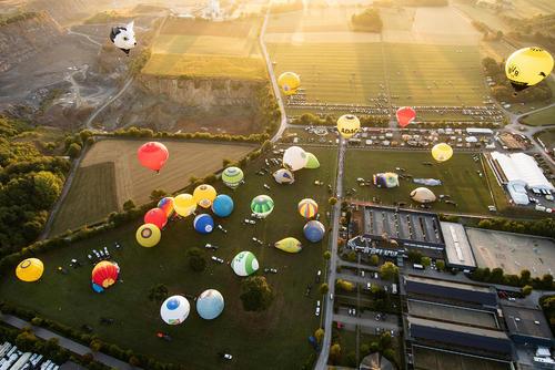 جشنواره بالن در ورشتاین آلمان/ خبرگزاری آلمان