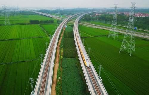 حرکت آزمایشی یک قطار سریعالسیر بین دو شهر