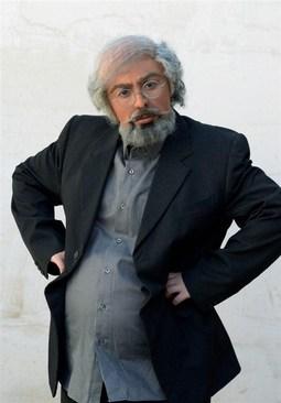 نیوشا ضیغمى در نقش یک پیرمرد (+عکس)