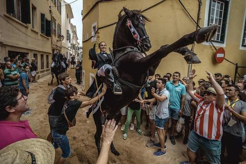 جشنواره ای در جزایر بالیاریک اسپانیا