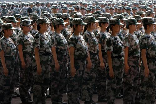 نیروهای تازه وارد ارتش چین