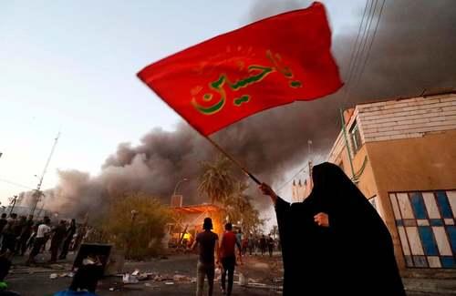 اعتراضات ضد دولتی در شهر بصره عراق/ خبرگزاری فرانسه