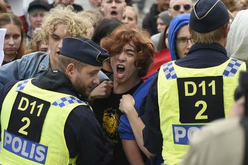 تظاهرات جنبش راستگرای
