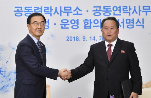 دیدار وزرای اتحاد دو کره در کره شمالی