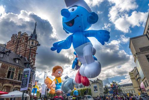 جشنواره کُمیک در بروکسل بلژیک