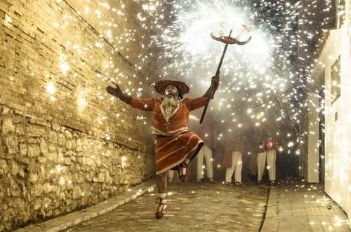 جشنوارهای سنتی در کاتالونیا اسپانیا