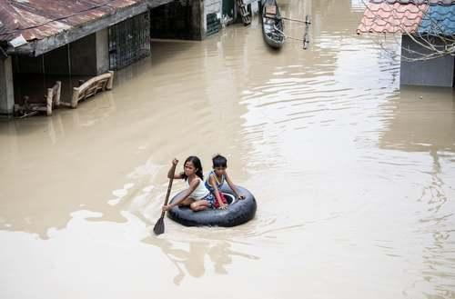 توفان مانگهوت در فیلیپین/ خبرگزار ی فرانسه
