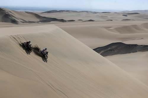 مسابقات موتورسواری رالی داکار در کشور پرو