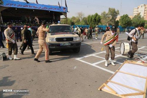 حمله تروریستی به مراسم در اهواز
