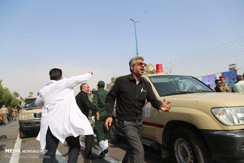 حمله تروریستی در رژه نیروهای مسلح در اهواز / 10 شهید و 21 زخمی / شهادت یک خبرنگار